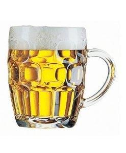 BEER GLASS - Dimple Mug Pint 570Ml