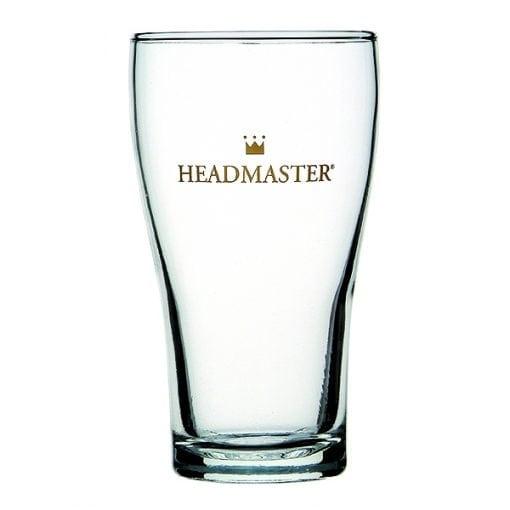 BEER GLASS - Crown Headmaster Conical Beer