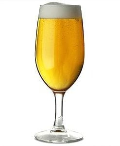 BEER GLASS - Arcoroc Stemmed Beer GLASS 310Ml