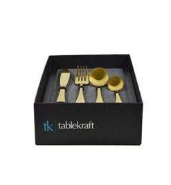 Soho Gold Cutlery by Tablekraft