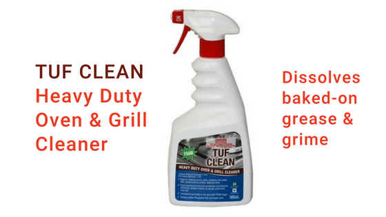 Tuf Clean RTU Oven Cleaner - Penetrates & Dissolves stubborn baked-on grease, grime & food soils