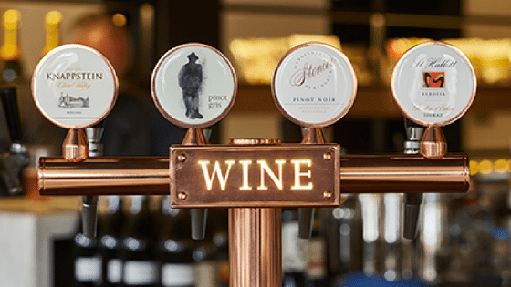 Wine on tap - Quality and sustainable