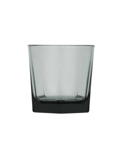 Polysafe Jasper Double Old Glass - 375mL - Smoke - Strong, durable & reliable.