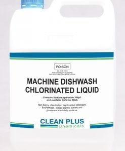 Machine Dishwash Chlorinated Liquid - 5L & 20L - Non-foamy formula with Descaler for spotless Dishes, Cutlery & Glassware
