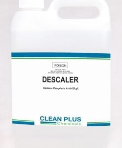 Descaler - Heavy duty acidic formula - Removes Rust, Food & Mineral Scale