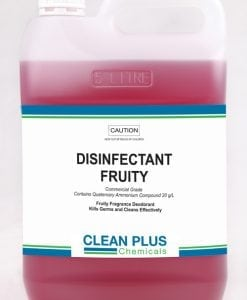 Disinfectant Fruity - Economical 5L & 20L pack - Commercial grade disinfectant to Kill Germs.