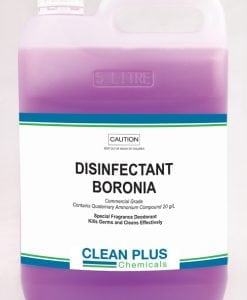 Disinfectant Boronia - Economical 5L & 20L pack - Disinfects & Kills Germs