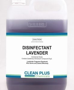 Disinfectant Lavender - Economical 5L & 20L pack - Commercial Grade to Kill Germs effectively.