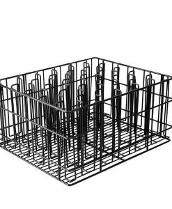 Glass Basket Black 30 Compartment