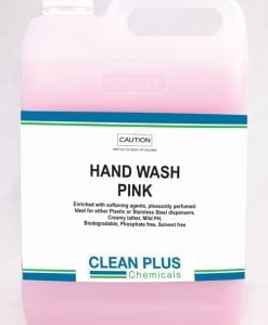 Hand Wash Pink - 5L, 20L - Suits Plastic or Stainless Steel dispensers. Biodegradable. Phosphate & Solvent free.