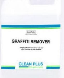 Graffiti Remover - 5L & 1L - Removes paint & texta from most surfaces.