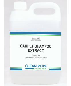 Carpet shampoo - 5L & 20L - Low foaming formula with Optical Brighteners.