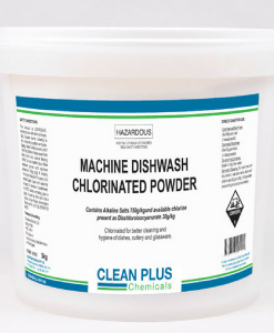 Chlorinated Dishwash Powder - Chlorinated for better hygiene & cleaning of dishes, cutlery & glassware.