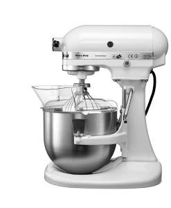 KitchenAid Bowl-Lift Stand Mixer KPM50 - Large 4.8L Stainless Steel Bowl.