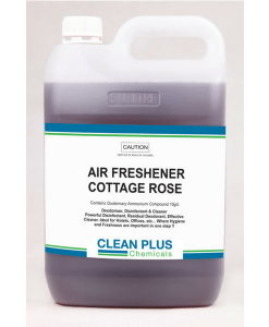 Air Freshener & Disinfectant - Cottage Rose - Deoderise, Disinfect & Clean with an Economical 5L or 20L pack.