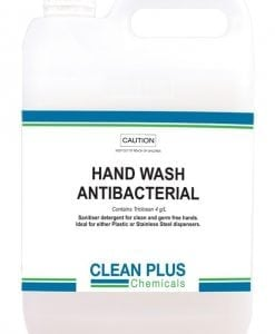 Hand wash antibacterial - Approved antibacterial ingredients - Provides up to 12 hours protection against germs.