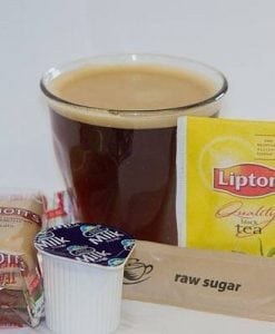 Tea/ Coffee/ Syrup/ Biscuits