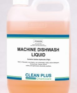Machine Dishwash Liquid - Cost-effective 5L, 15L & 20L pack - Concentrated formula with Destainer, Descaler & Hard water softeners