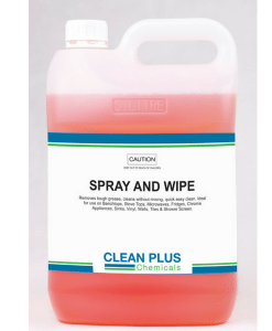 Spray & Wipe - All purpose degreaser & cleaner - Suits most surfaces.