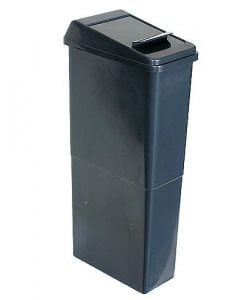 Sanitary Bin - Tall slim fit model fits in small spaces - Hygienic disposal of sanitary items.