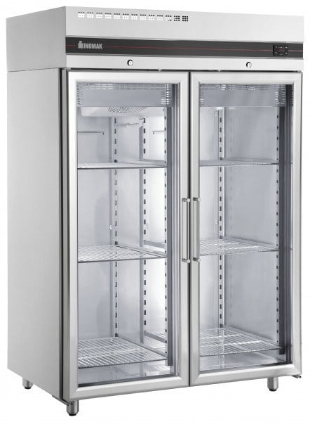 Double Glass Door Fridge Johnson Hospitality