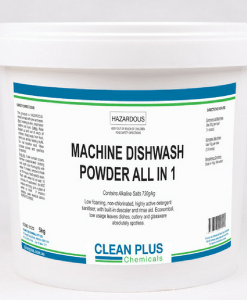 Machine Dishwash & Descale Powder - Includes Rinse Aid & Descaler - Leaves Dishes, Cutlery & Glassware spotless.