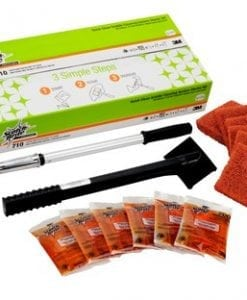 Scotch-Brite™ Quick Clean Griddle Cleaning System Starter Kit, 710