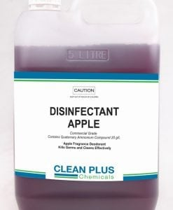 Disinfectant Apple - Economical 20L pack - Commercial Grade Disinfectant Kills Germs effectively.
