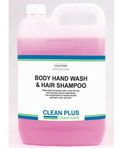 Body Hand Wash & Shampoo - Economical 20L - 3 in 1 formula with moisturisers for soft, smooth skin, hands & hair.