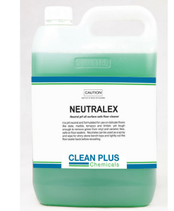 Neutralex - 5L, 20L - Suitable for use on delicate floors such as Marble, Terrazzo, Vinyl, and Timber.