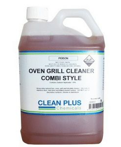 Oven & Grill Cleaner Combi Style - 5L, 20L - Heavy duty solvent-free Oven, Grill & Hot Plate Cleaner.
