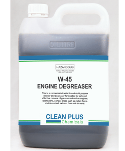 W45 Engine Degreaser - 20L - Removes grease & soils from engines & workshop floors.