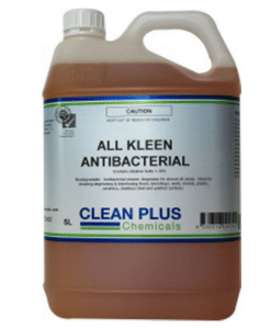 All Clean Anti-bacterial - 20L - For use on Floors, Bench tops, Metal, Plastics, and most Painted surfaces.