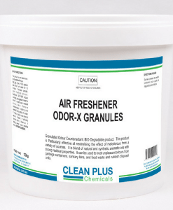 Odor-X Granules - 3Kg - Excellent Odour Neutraliser & Air Freshener. Suitable for all types of bins & rubbish units.