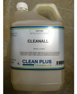Cleanall Neutral Cleaner - 5L & 20L - Powerful Cleaner capable of grease cutting & soil removal from most washable surfaces.