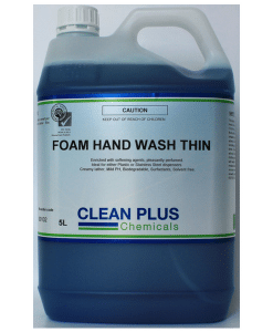 Foaming Hand wash - 5L - Low viscosity suitable for Foaming Hand Wash Dispensers with thin nozzles.
