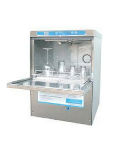 Bracton BR2 Glass Washer - Heavy duty stainless steel - Fast & effective wash for crystal clear glasses.