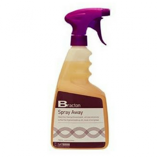 Bracton Spray Away Heavy Duty Cleaner - Purple - 750Ml spray bottle - Cuts through grease, oil, and dirt and disinfects to hospital standards.