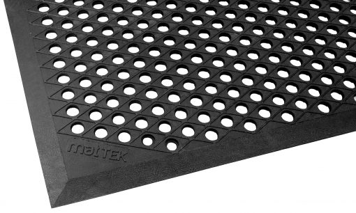 Cushion Ease Rubber Mat - 900Mm x 1500Mm - Safety mat providing comfort for those standing for lengthy periods of time.