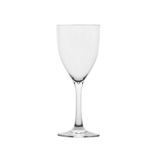Polysafe Wine Glass - 250Ml - Clear - Virtually unbreakable.
