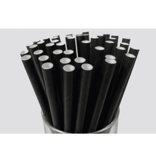 paper and biodegradable straws