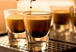 Coffee cups and glassware